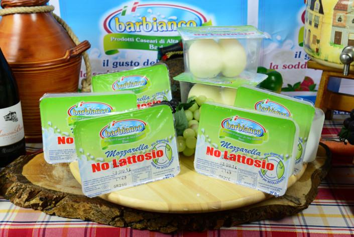 Mozzarelle e scamorze senza lattosio